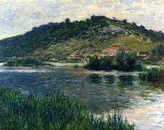 Claude Monet 1883 Landscape at Port-Villez