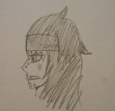 A little beat-up Gajeel I did when I was bored Lol, IDK