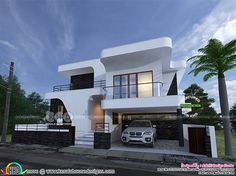 homes designs. Flowing Style Contemporary 4 Bedroom House Plan In An Area Of 3650 Square  Feet By Aakriti Design Studio Dubai Kerala Flat Roof Homes Designs Flat Villa Exterior 2400 Sq