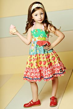 Good Hart, Spring 2013: Meadow Sweet Ellie Dress, Matilda Jane Girls Clothing