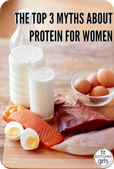 The top three myths about women and protein, BUSTED! | Fit Bottomed Girls
