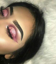 Mauve pink eye look Makeup On Fleek, Kiss Makeup, Flawless Makeup, Cute Makeup, Glam Makeup, Gorgeous Makeup, Pretty Makeup, Makeup Inspo, Makeup Art