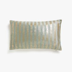 Image of the product Cushion cover with gold stripes