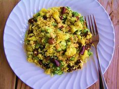 Curried Quinoa Salad with Roasted Cauliflower | Manjula's Kitchen | Indian Vegetarian Recipes | Cooking Videos