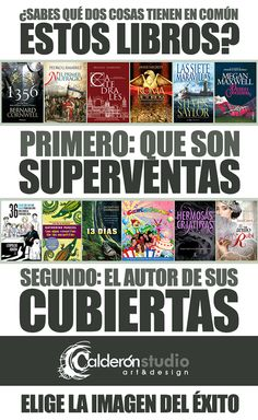 Pieza campaña otoño CalderónSTUDIO Marketing, Author, Libros, Hipster Stuff
