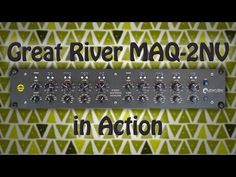 Mondstein Records: Great River MAQ 2NV Mastering EQ in Aktion