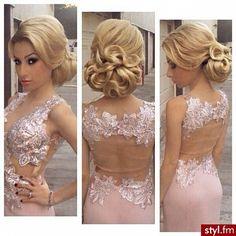 Trendy 2015: modne fryzury na wesele, studniówkę - Strona 2