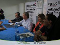 Así Somos: El Intendente Raúl Figueroa recibió al Gobernador ...