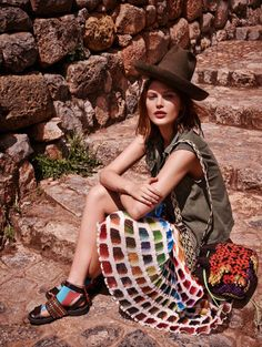 catherine mcneil photo shoot10 Catherine McNeil Heads to Peru for Vogue Russia by Mariano Vivanco