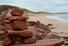 Beach Inukshuk PEI  #photooftheday Birdhouse, Serenity, Canada, Gallery, Beach, Garden, Roof Rack, The Beach, Garten