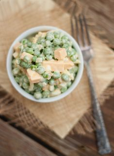 Pea Salad | Ive been looking for a good pea salad recipe FOREVER!