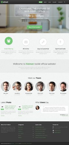 'Helmet Business'  #webdesign for WordPress 3.x Template 44439 http://www.zign.nl/44439