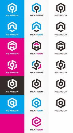 Hexagon Logo Bundle by Logolea on Creative Market. Get it now for $29!!