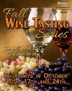Wine tasting for Wymans