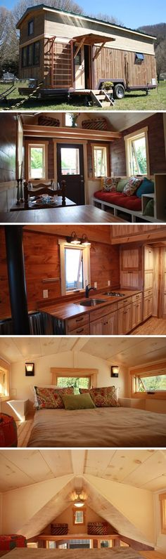 mytinyhousedirectory: Fitness Nest by Blue Ridge Tiny Homes ~ Beautiful!