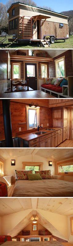 mytinyhousedirectory: Fitness Nest by Blue Ridge Tiny Homes ~ Beautiful!