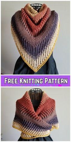 Knit Reyna Shawl Free Knitting Pattern – Crochet and Knitting Patterns Easy Knitting, Loom Knitting, Knitting Stitches, Knitting Humor, Vogue Knitting, Knitting Machine, Cross Stitches, Knitted Shawls, Crochet Shawl
