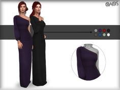 #Sims4Female A new dress for female. ^_^ Found in TSR Category 'Sims 4 Female Everyday'