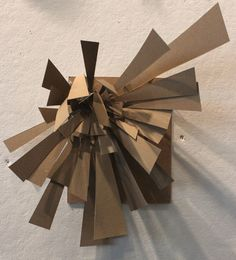 Clara Lieu, Chipboard Personality Sculpture Project, RISD Project Open Door, 2015.