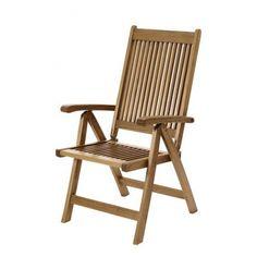 Աթոռ-շեզլոնգ PORTLAND, 58x70x110սմ, կարծր փայտանյութ, 5 դիրքերով - Բացօթյա հանգիստ