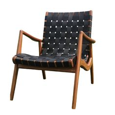 Shop SUITE NY for Mel Smilow's mid-century modern furniture collection including the WLC Woven Leather Armchair and other midcentury classic American designs