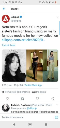 Famous Models, Twitter Web, G Dragon, Bigbang, Fashion Brand, Bangs, Sisters, Collection, Fringes