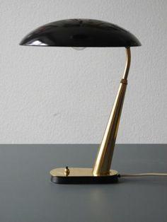 Kaiser Idell 6770 Tischlampe von Christian Dell für Kaiser Leuchten, 1950er bei Pamono kaufen