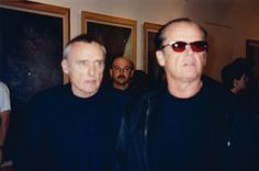 G.R.A.M. Paparazzi (Dennis Hopper, Jack Nicholson), 1997  Colour photograph 78 7/10 × 118 1/10 in 200 × 300 cm Edition of 1 + 2 a.p.
