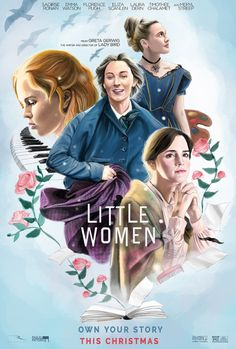 Little Women - Alternate Movie Posters - film - Pins Movie Poster Art, Film Posters, Iconic Movie Posters, Original Movie Posters, Wall Art Pictures, Print Pictures, Poster Graphics, Plus Tv, Women Poster
