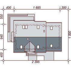 DOM.PL™ - Projekt domu DN KARMELITA BIS 2M CE - DOM PC1-47 - gotowy koszt budowy Floor Plans, House Styles, Modern, Dom, Country Houses, Trendy Tree, Floor Plan Drawing, House Floor Plans