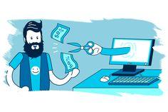 La facturación online supone un ahorro económico de hasta el 50% #facturaciónonline #autónomo