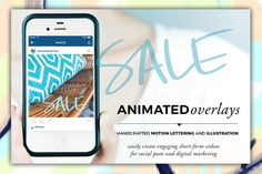 Animated Overlay - Sale (All Caps) by Baron Art Co. on @creativework247
