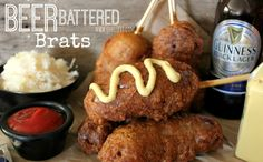 ~Beer Battered Brats! | Oh Bite It