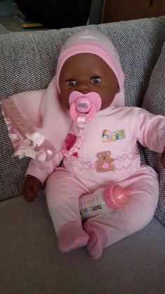 colorato Born '90 Neuovp Doll anni In Baby OrigOld Zapf LMqSzVpUG
