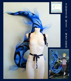 Tail Cosplay YUGITO NII - NARUTO   By ArtEcò Creazioni di Annalisa Benedetti #cosplay #artecòcreazioni #annalisabenedetti #yugito #yugitonii #naruto #handmade #romics