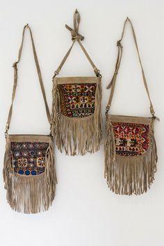Nomad Traveller Fringe Bag - Small | Arrow Divine
