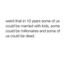 Kind of scary