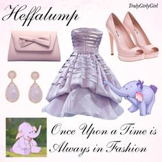 """Disney Style: Heffalump"" by trulygirlygirl on Polyvore"