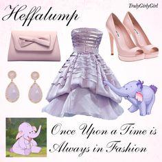 Disney Style: Heffalump, created by trulygirlygirl on Polyvore