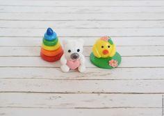 Купить Игрушки для кукол из полимерной глины - миниатюра, миниатюра для кукол, миниатюра из пластики, миниатюры