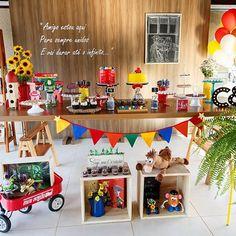 Festa Toy Story linda! Decoração super charmosa por @convidafestas  #kikidsparty