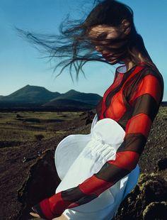 Hayett McCarthy by Txema Yeste for Numero February 2016 | The Fashionography