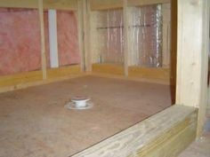 How to Build a Mortar Shower Pan - http://www.homeadditionplus.com/home-articles-info/Room_Addition_Checklist.htm