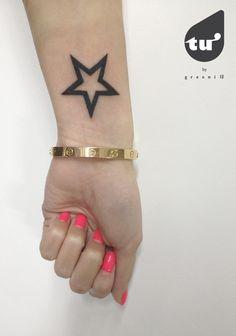 2 0 1 3 xīng #tuworkshop #tattoo #star #graphic https://www.facebook.com/greenitattoo