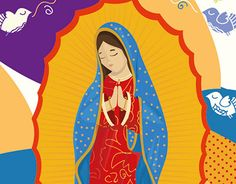 """Check out new work on my @Behance portfolio: """"Guadalupe"""" http://be.net/gallery/50464911/Guadalupe"""