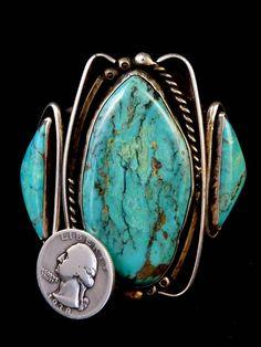 James Martin 102g Vintage Navajo Sterling Silver Cuff Bracelet