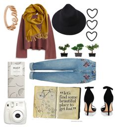 """""""Beautiful place to get lost"""" by celeste-05 on Polyvore featuring Chicwish, Hermès, Boohoo, Nearly Natural, Miss Selfridge, Fujifilm, Urban Outfitters, Lauren Ralph Lauren and Sterling Essentials"""