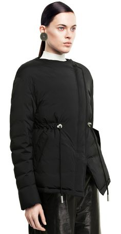Tam cropped a-line puffer jacket #AcneStudios #FallWinter2014
