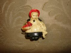 Vintage Celluloid Tape Measure Figural by PastPossessionsOnly, $24.95