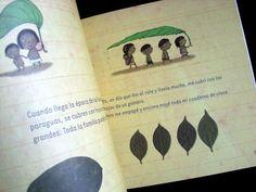 """Papá estuvo en la selva"", Anne Decis & Gusti. Ed. Pequeño Editor Children's Books, Decir No, Illustration, Ideas, Umbrellas, Notebooks, Libros, Home"